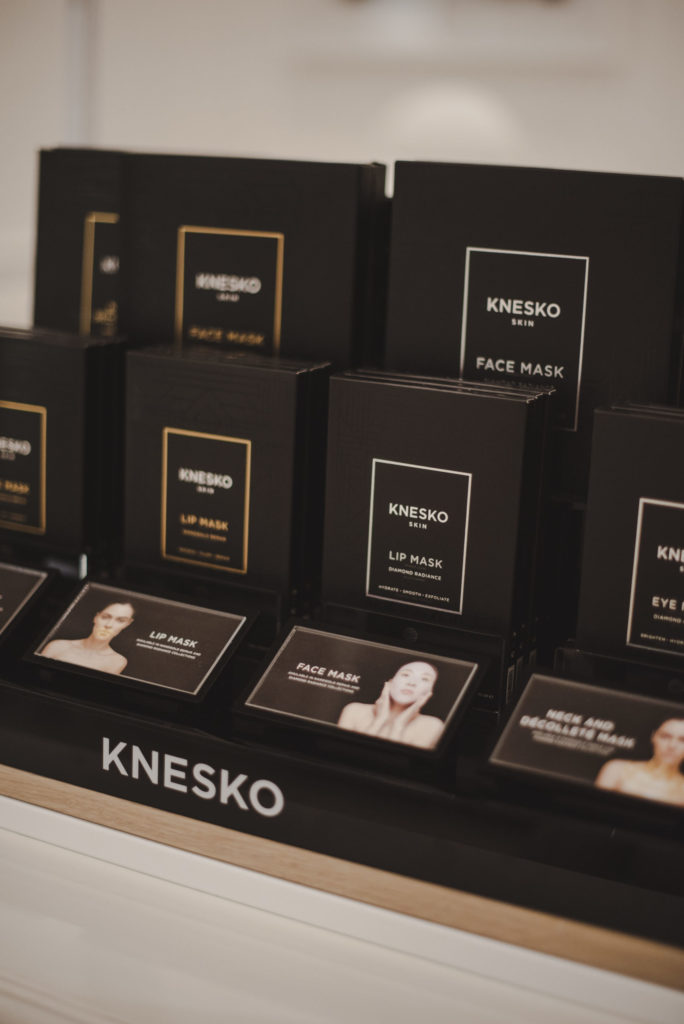 Knesko Skin Lip Mask display at The Marly Spa in Camps Bay, Cape Town